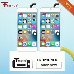 For iPhone 6 LCD display with touch screen digitizer complete for 4.7 inch iPhone 6 lcd screen with free ship