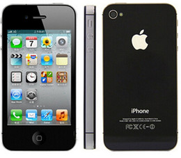 Original Apple Refurbished Unlocked iPhone 4S cell phone 8GB ROM iOS GPS WiFi WCDMA 8MP GPRS With Gifts by Free Shipping