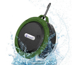 Wholesale Waterproof Bluetooth Speaker Mini Wireless NFC Super Bass Subwoofer Outdoor Sport Sound Box Portable MP3 Music Player