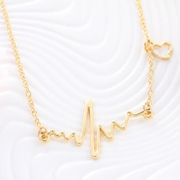 Wholesale 2016 fashion jewelry bead round bar charm gold chain necklace statement necklaces amp pendants women summer wedding jewelry a32