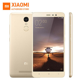 Wholesale Original Xiaomi Redmi Note Pro Prime mobile phone Inch FHD GB GB bit Snapdragon MIUI V7 MP Fingerprint