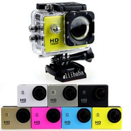 Wholesale SJ4000 Inch LCD Screen P Full HD Action Camera M Waterproof Camcorders SJcam Helmet Sport DV Car DVR by DHL