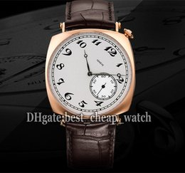 Wholesale Super Clone Brand Luxury Watch Historiques American mm R Mens Watch K Rose Gold White Dial Automatic Sport Watches
