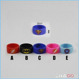 Wholesale Popular e cigarette silicone ring vape band with customized logo available mix color anti slip vape band ring for ecig mods