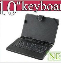OEM Black Leather Case with Micro USB wbgith Interface Keyboard for 10 MID Tablet PC JP10-1