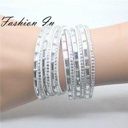 2015 Fashion Wrap Bracelet For Women Multilayer White Slake Leather Bracelets Bangles Cheap leather furniture for sale
