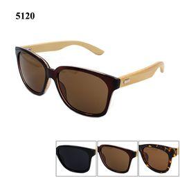 2016 High quality bamboo sunglasses women brand designer men bamboo sun glasses with matel hinge 100% UV400 shade
