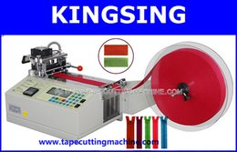 Wholesale Digital Automatic Webbing Cutting MachineKS LR cold amp hot knife by DHL FedEx door to door service