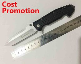 Wholesale Cost Promotion Browning OEM Folding Pocket knife Aluminum Handle Blasting Blade Tactical Hunting Camping Survival Outdoor Tool
