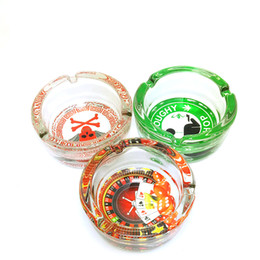 Wholesale JIJU New glass ashtray small bowl for glass bongs water pipe oil rig decorated type cabinet and delicate S