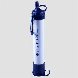 Wholesale Survival Personal Water Filter for Camping Hiking Backpacking and Prepping Portable Purifier is BPA Free and Lightweight Filtration