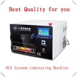 Wholesale 5 in Upgrade Touch screen OCA Vacuum Laminating Machine Vacuum Laminator no need air compressor no need vacuum pump no bubble
