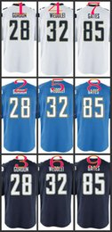 Wholesale Youth NIK Game Football Stitched Chargers Gordon Navy Antonio Gates Light Blue White Dark Blue Jerseys Mix Order