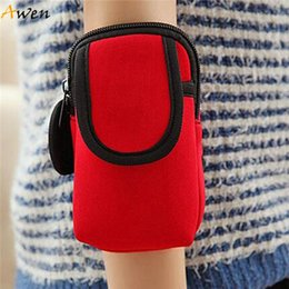New Fashion Small Gym Bags For Men & Women Portable Outdoor Sports Arm Pouch For Phone Key Money Waterproof Nylon breathable Arm Bag F384