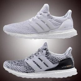 2017 Wholesale High Quality Hypebeast Primeknit Black White Ultra Boost 3.0 Uncaged Men Women Athletic Shoes Sports Running Shoes Eur 36-45