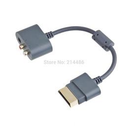 Câbles xbox av en Ligne-NOUVEAU adaptateur audio optique Câble AV pour Xbox 360 Hot vente
