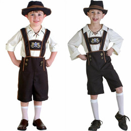 Wholesale 2016 Halloween Role Playing Adult And Kid Oktoberfest Carnival Costumes Family Parent Child Outfit Beer Restaurant Bar Maid Uniforms