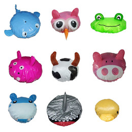 Wholesale Baby Hat Toddler Kids Shampoo Bathing Shower Cap Waterproof Hair Shield Visor Caps for Children Baby Care Colors