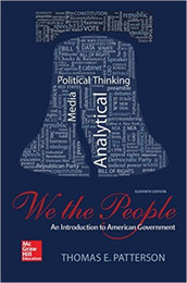 Wholesale We The People An Introduction to American Governmen th Edition by Thomas E Patterson Author