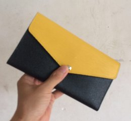 Wholesale NEW LUXURY MARIE LOU Designer Fashion woMen s Wallet Genuine Leather Purse No Zipper Cowhide Wallets