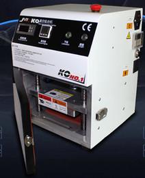 2016 New Touch screen glass oca film Vacuum lcd Laminate Machine Vacuum OCA Laminator Laminating Machine repair lcd for iphone lcd refurbish