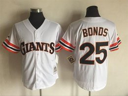 Wholesale Barry Bonds Men s San Francisco Giants Majestic White Cool Base Cooperstown Collection MLB Baseball Jersey holypote
