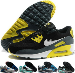 Wholesale Cheap Air Brand Max Running Shoes For Women Men High Quality Runs Airmax Sport Shoes Black Max90 Shoe Maxes Trainers Sneakers