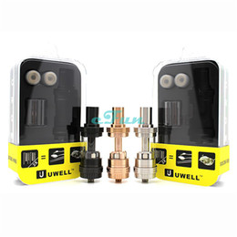 Wholesale Authentic Uwell Crown Sub Ohm Tank Crown Tank Best for Smok XCube II IPV D3 Koopor plus Sigelei Fuchai w DHL free