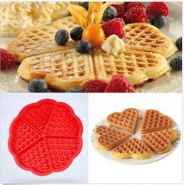 Wholesale Silicone Waffles Muffins Mold Cake Chocolate Pan Bakeware Kitchen Baking Tools