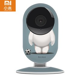 Wholesale Newest DIY Xiaomi CCTV Xiaoyi IP Camera Wifi Mini ants Style Dummy Cam Wireless video Webcam Audio Cartoon Appearance Remote