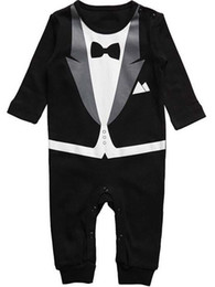 2016 spring and summer new style baby boy gentleman Climb clothes baby's Romoers kids one-piece garment children's jumpsuits.