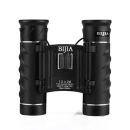 Prismáticos militares de la ocular de la caza de la visión de la alta calidad de los telescopios de la caza de los prismáticos de la caza 12X HD 12x26 de BIJIA que envían libremente supplier military hd desde hd militar proveedores
