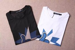Wholesale 2016 T Shirts Men quality Neil Barrett short round collar Mens M XL T Shirts four colors