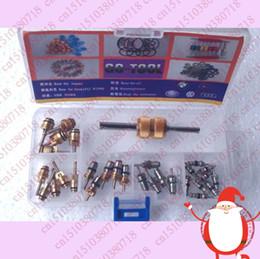 Wholesale valve type Heat Resistance High Pressure Resistant r134a Automotive Air conditioning Valve Core valve type valve limit switch box