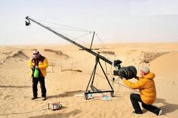 27.5 Foot Pan Tilt Head 3 kilo Camera Crane Jib Arm Jibs 7 Inch HDMI Monitor Kit
