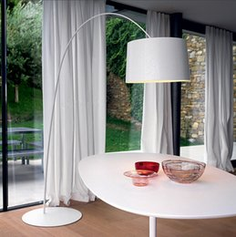 Wholesale Foscarini Twiggy Terra Floor Lamp Fishing Floor Lamps Modern Minimalist Fashion Black Yellow Red White Living Room LOFT Meeting Room Light