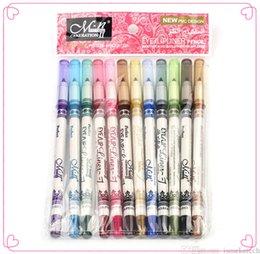 Wholesale Menow Brand Eyeliner Pen Waterproof long lasting sweat resisting formula Beauty Makeup eyeliner Pencil colors vs Kylie Eye Liner