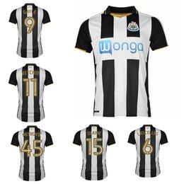 Wholesale 2016 Newcastle United Soccer Jerseys Newcastle fc Jersey Camiseta football shirts Thai quality
