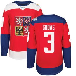 Wholesale 2016 World Cup of Hockey Czech Republic Team Jersey Gudas Michalek Hanzal Faksa Plekanec Palat Jaskin Pavelec Jerseys