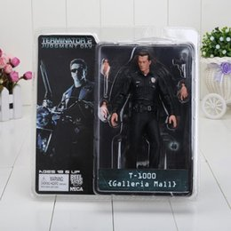 Wholesale The Terminator NECA The Terminator Action Figure Toy T1000 Galleria Mall Figure Toy Doll For Boys Gift approx cm