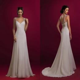 Beach Wedding Dresses Cheap Mermaid Wedding Dresses 2016 Bridal Gowns New Arrival Spaghetti Straps Backless Wedding Gowns Cheap
