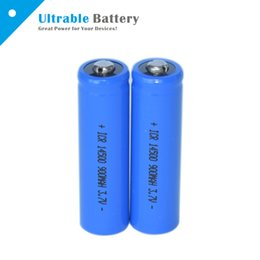 Wholesale 3 V Lithium Battery Li Ion Rechargeable Battery Button top mAh Battery AA Battery Max A Discharge for Electronic Cigarettes