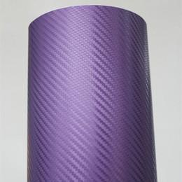 Wholesale Glossy High polymer D Carbon Fiber Vinyl Film Car Sticker with Air Channels m Roll Fedex
