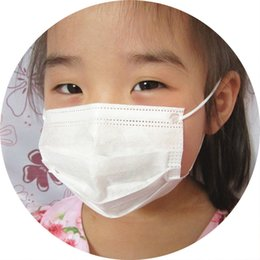 Wholesale children Ear hanging face masks Double filtration Prevent pollen allergy Export Japan B F E standard PASS SGS freeshipping