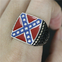 3pcs lot New Design USA Style Ring 316L Stainless Steel Fashion jewelry Biker Cool Man USA Ring