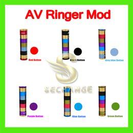 V2 fuhattan à vendre-Full Mod mod mod Manhattan AV 5 anneaux Avid Lyfe 18650 batterie E Cigarette bouton réglable en cuivre VS Fuhattan v2 mod