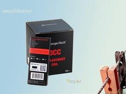 Wholesale Kangertech Atomizer Series - Kangertech OCC SSOCC Coils Vertical Subtank coils 0.5 1.2 ohm kanger SSOCC fit Subtank Series NEBOX SUBVOD SUBOX Atomizers Free Shipping