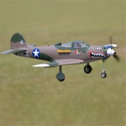 Wholesale FMS P P39 Hells Bells mm Racing High Speed PNP RC Airplanes Cheap rc petrol airplane