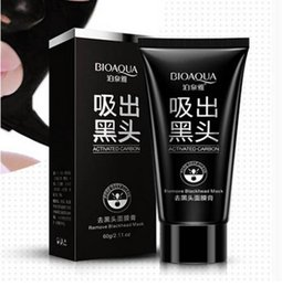 Wholesale Hot Sale Face Beauty Care Suction BIOAQUA Facial Mask Blackhead Remover Peeling Black Head Acne Mud Mask