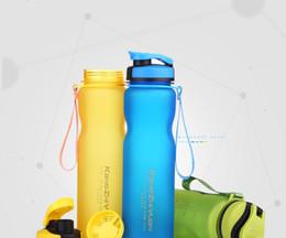 Wholesale 500ml Eco Friendly Tritan BPA Free sports Water Bottles Scrub coffee tea milk Space Cup climbing Hiking Cycling Bottle